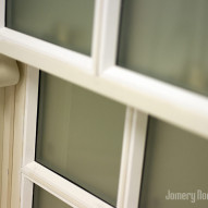 sash window in white primer - Joinery Northwest Ltd