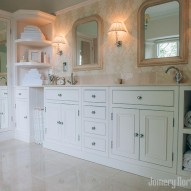 bespoke bathroom furniture - joinery northwest