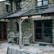 oak veranda - joinery northwest